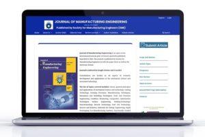 Journal of Manufacturing Engineering Website